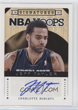 2013-14 NBA Hoops - Signatures #2 - Jeff Taylor