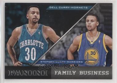 2013-14 Panini - Family Business #2 - Dell Curry, Stephen Curry