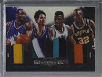 Sean Elliott, David Robinson, John Stockton, Karl Malone #/25