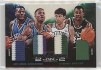 Larry Johnson, Alonzo Mourning, Kevin McHale, Reggie Lewis /20