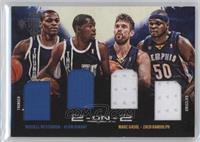 Kevin Durant, Russell Westbrook, Marc Gasol, Zach Randolph /99