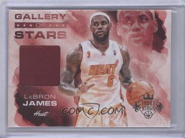 2013-14 Panini Court Kings - Gallery of Stars Jerseys #2 - LeBron James /325
