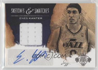 2013-14 Panini Court Kings - Sketches & Swatches Autographs #11 - Enes Kanter /149