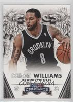 Deron Williams #/25