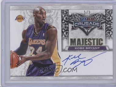 2013-14 Panini Crusade - Majestic Marks - Gold #7 - Kobe Bryant /5