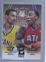 George Hill, Jeff Teague /1