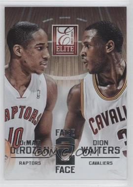 2013-14 Panini Elite - Face 2 Face #17 - DeMar DeRozan, Dion Waiters