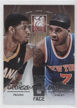 2013-14 Panini Elite - Face 2 Face #9 - Carmelo Anthony, Paul George