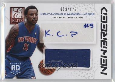 2013-14 Panini Elite - New Breed Materials Signatures #NB-KC - Kentavious Caldwell-Pope /175
