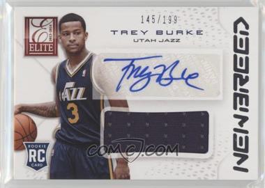 2013-14 Panini Elite - New Breed Materials Signatures #NB-TB - Trey Burke /199