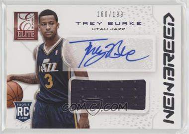 2013-14 Panini Elite - New Breed Materials Signatures #NB-TB - Trey Burke /199