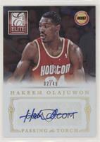Dwight Howard, Hakeem Olajuwon #/49