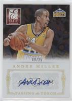 Andre Miller, Ty Lawson #/25