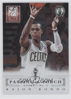 2013-14 Panini Elite - Passing the Torch #18 - Oscar Robertson, Rajon Rondo
