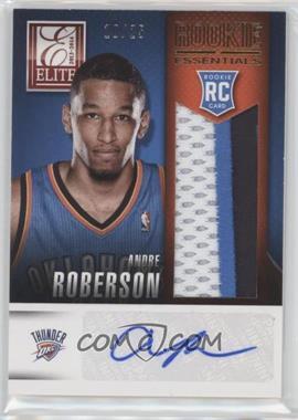 2013-14 Panini Elite - Rookie Essentials Materials Signatures - Prime #RE-AR - Andre Roberson /25