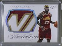 LeBron James #/1