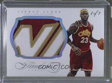 2013-14 Panini Flawless - Patches - Platinum #86 - LeBron James /1