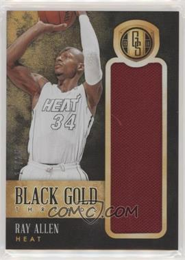 2013-14 Panini Gold Standard - Black Gold Threads #21 - Ray Allen /25