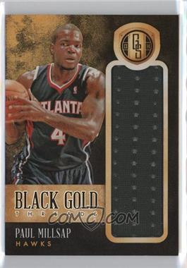 2013-14 Panini Gold Standard - Black Gold Threads #45 - Paul Millsap /20