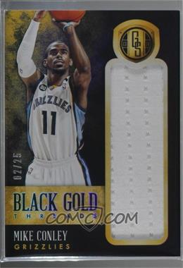2013-14 Panini Gold Standard - Black Gold Threads #53 - Mike Conley /25 [Noted]