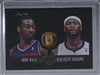 DeMarcus Cousins, John Wall [Noted] #/1