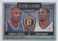 Carmelo Anthony, Kevin Durant #/10