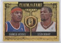 Kevin Durant, Carmelo Anthony #/49