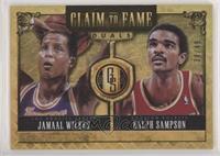 Jamaal Wilkes, Ralph Sampson #/49