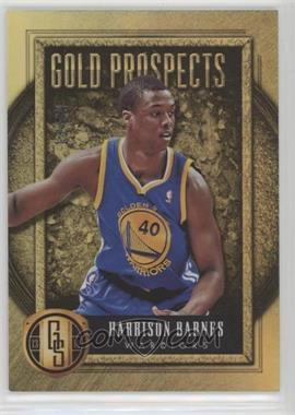 2013-14 Panini Gold Standard - Gold Prospects #35 - Harrison Barnes /49 [Noted]