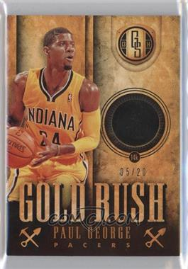 2013-14 Panini Gold Standard - Gold Rush #57 - Paul George /20