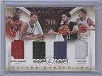 Blake Griffin, David Lee, Dwight Howard, Kevin Love #/14