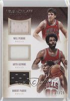Artis Gilmore, Robert Parish, Will Perdue /25