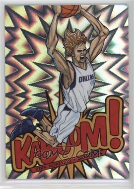 2013-14 Panini Innovation - Kaboom #4 - Dirk Nowitzki