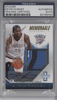 Kevin Durant [PSA/DNA Certified Encased] #/25
