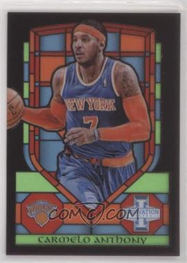 2013-14 Panini Innovation - Stained Glass #5 - Carmelo Anthony