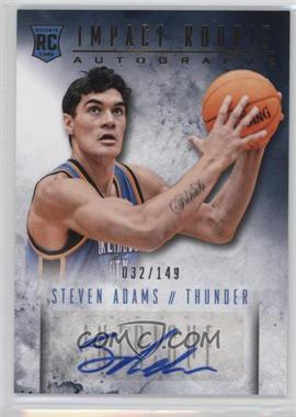 2013-14 Panini Intrigue - Impact Rookie Autographs - [Autographed] #30 - Steven Adams /149