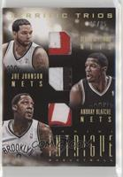 Deron Williams, Andray Blatche, Joe Johnson /25
