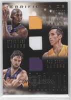 Kobe Bryant, Pau Gasol, Steve Nash /199
