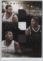 Andray Blatche, Deron Williams, Joe Johnson /199