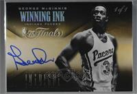 George McGinnis [Noted] #/1