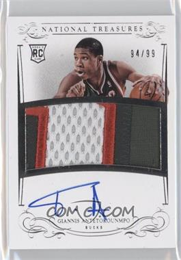 2013-14 Panini National Treasures - [Base] #130 - Giannis Antetokounmpo /99