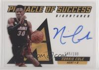 Norris Cole [Noted] #/199