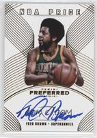 NBA Pride - Fred Brown /10
