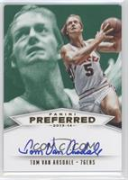 Panini Signatures - Tom Van Arsdale [Noted] #/5