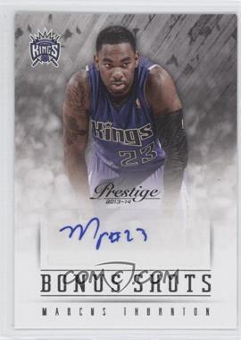 2013-14 Panini Prestige - Bonus Shots Autographs #8 - Marcus Thornton