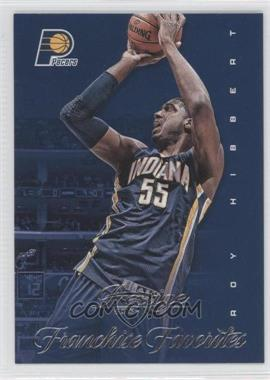 2013-14 Panini Prestige - Franchise Favorites #12 - Roy Hibbert