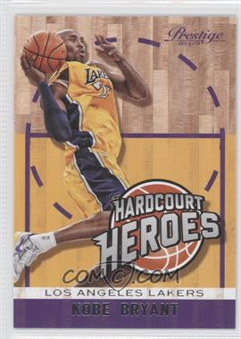 2013-14 Panini Prestige - Hardcourt Heroes #2 - Kobe Bryant