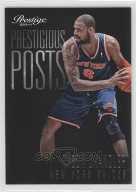 2013-14 Panini Prestige - Prestigious Posts #3 - Tyson Chandler