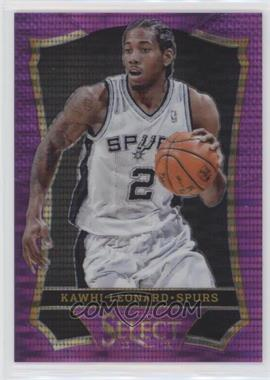 2013-14 Panini Select - [Base] - Purple Prizms #36 - Kawhi Leonard /99