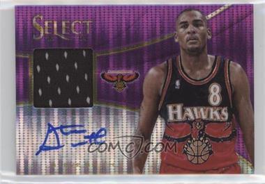 2013-14 Panini Select - Jerseys Autographs - Purple Prizms #34 - Steve Smith /99